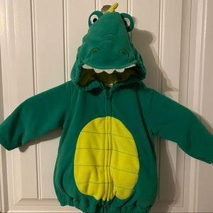 Dinosaur Zip-Up Costume Size 6-9 Months